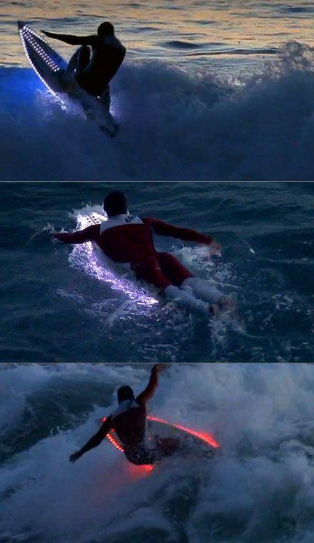 surfboard LED