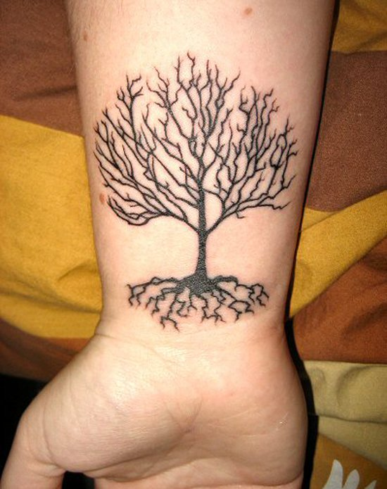 Bare branches tree of life tattoos