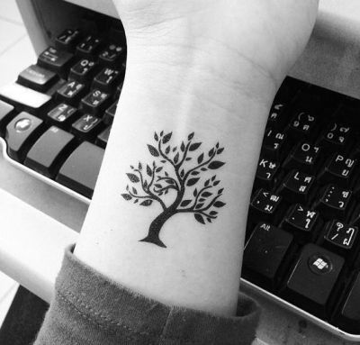 Basic tree of life tattoo
