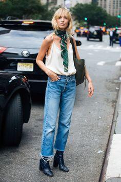 Summer street style scarf ideas