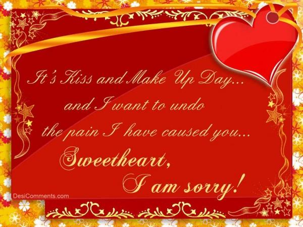 sweetheart i am sorry