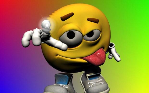 emoticon funny 3d photo