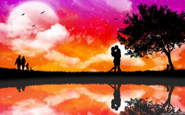 hd romantic wallpaper