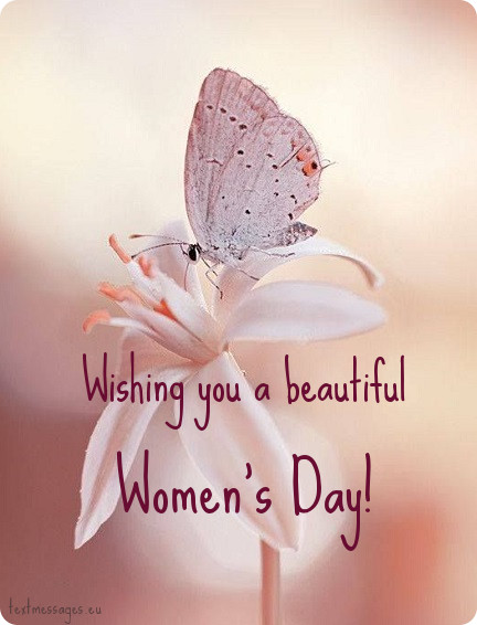 wishing you a beautiful womens day
