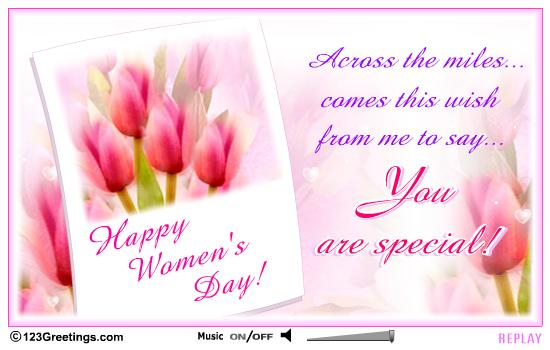 you are special happy womens day