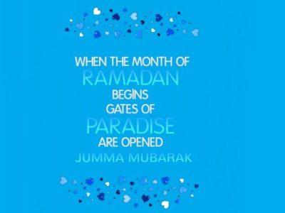 Ramadan Jumma Mubarak Images-Wallpapers
