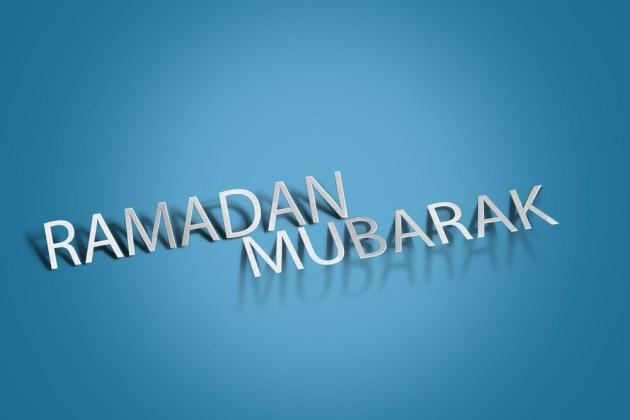 Ramadan Mubarak 3d