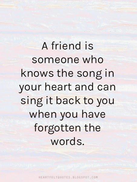 heart touching best friend quote image