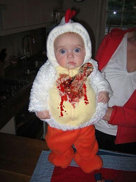 alien chicken toddler halloween costume ideas