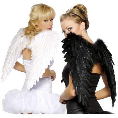 dark-light fallen angels halloween fancy college girls costume ideas