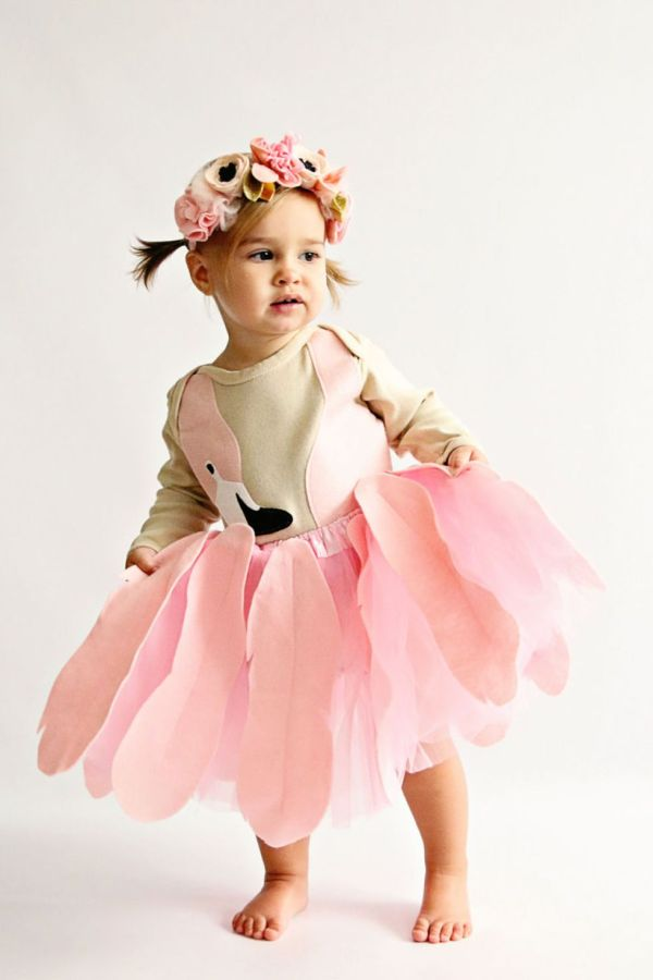 flamingo toddler halloween costume