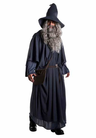 gandalf lord of the rings halloween costume ideas for men with long hair