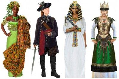 goddess halloween costume ideas for 4 girls group