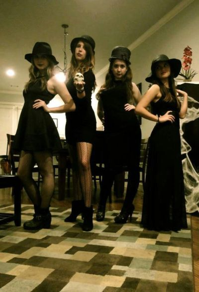gothic halloween costume ideas for college girls