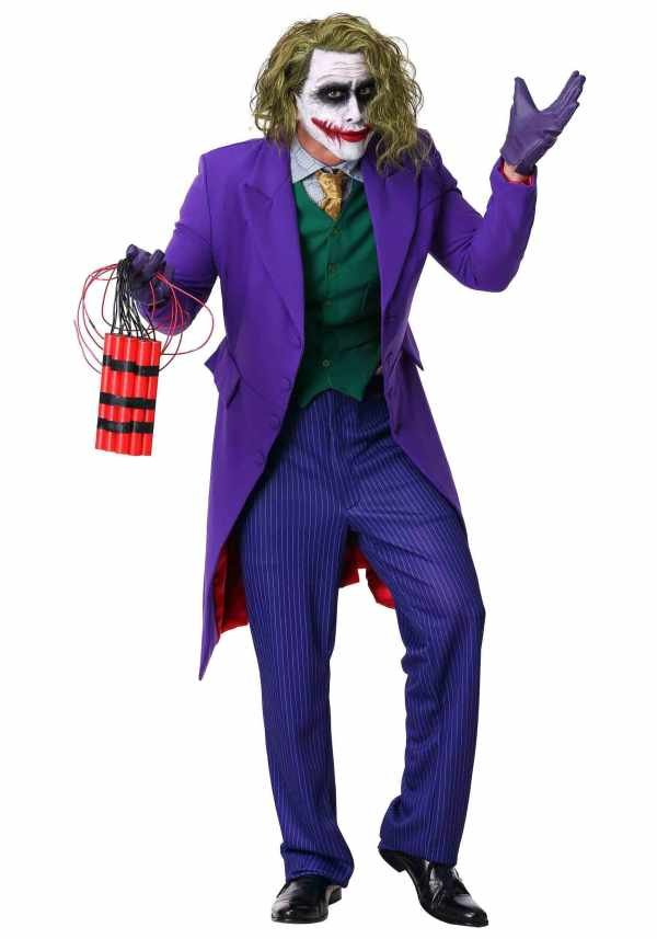 joker men halloween costume ideas for long hair