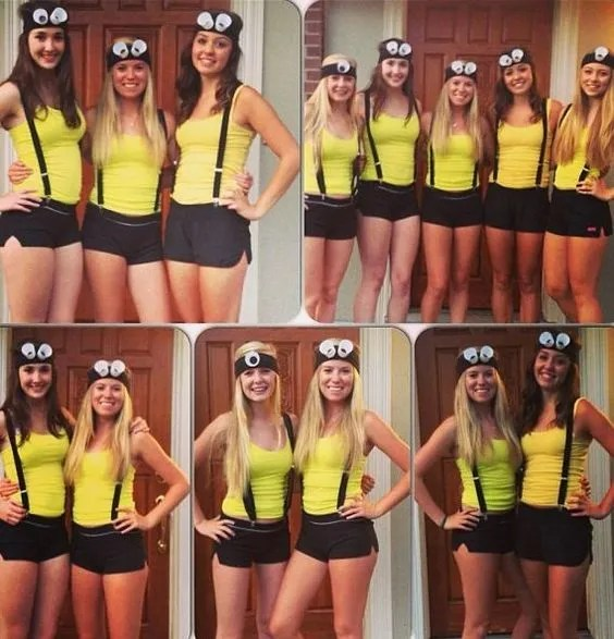 minions halloween costume ideas for college girls