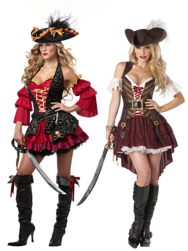 pirate halloween costume ideas for college girls