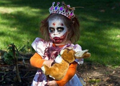 princess zombie girl halloween costume ideas