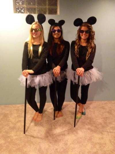 three blind mice girls halloween costumes