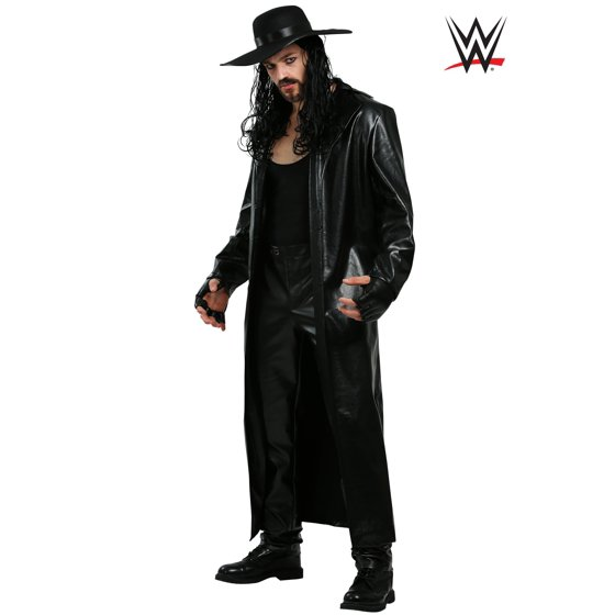 undertaker wwe wrestler halloween costume ideas for men with long hair