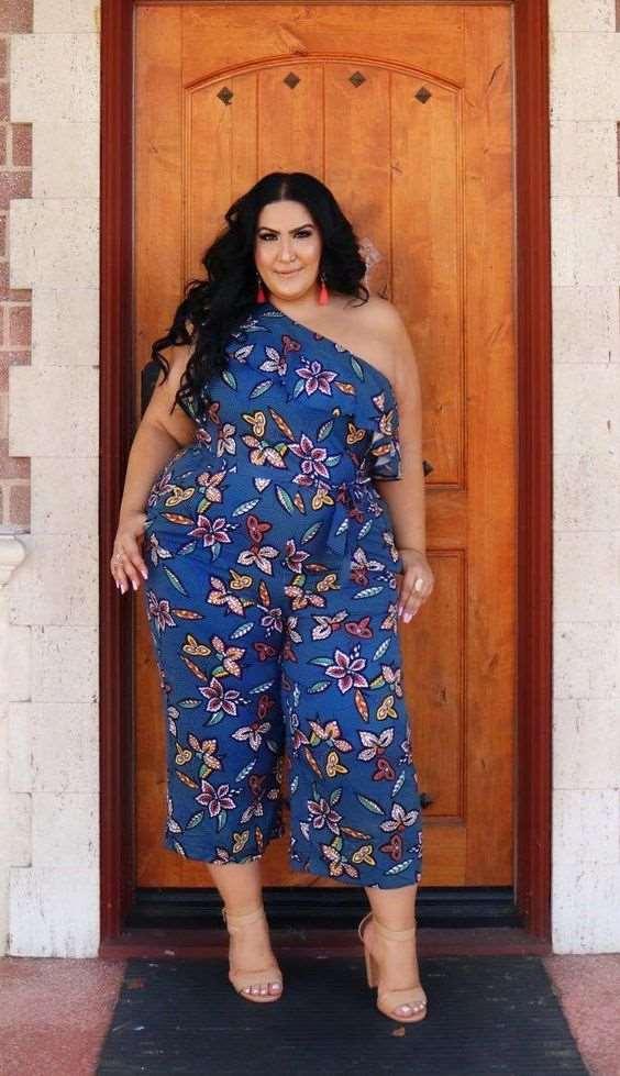 plus size women summer jumpsuits