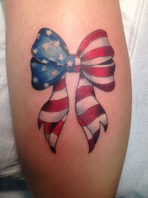 american flag tattoo ideas for girls