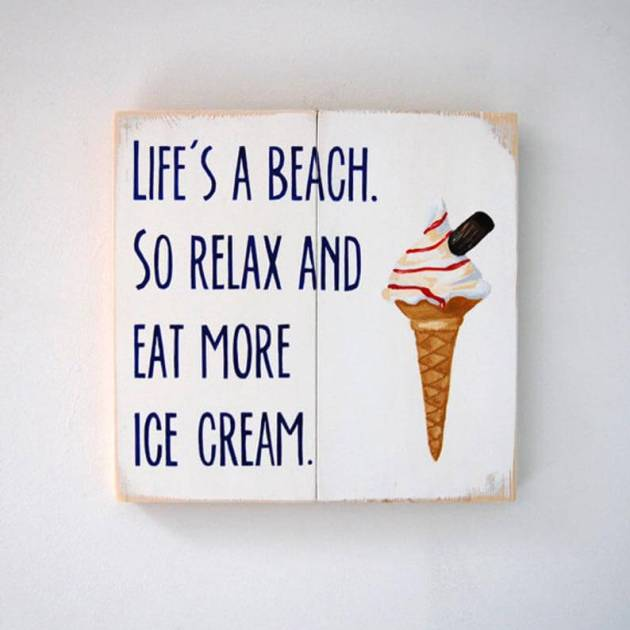 summertime ice cream quotes