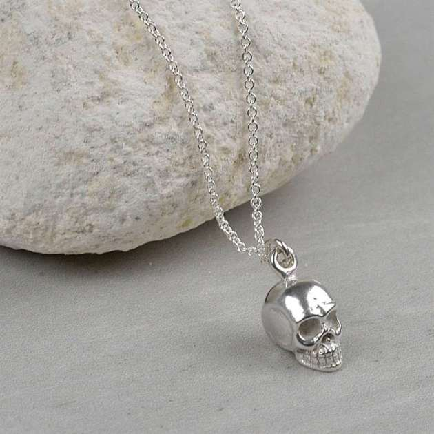 skull necklace jewellery