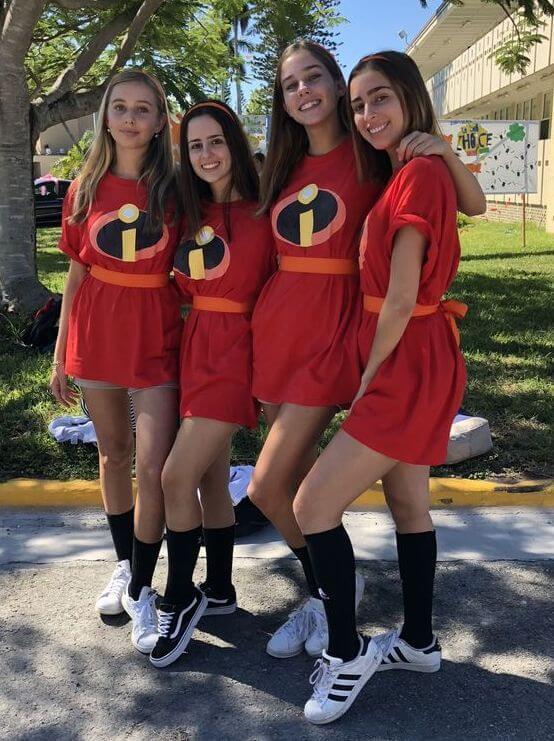 cute marvel superhero halloween costume ideas for girls group