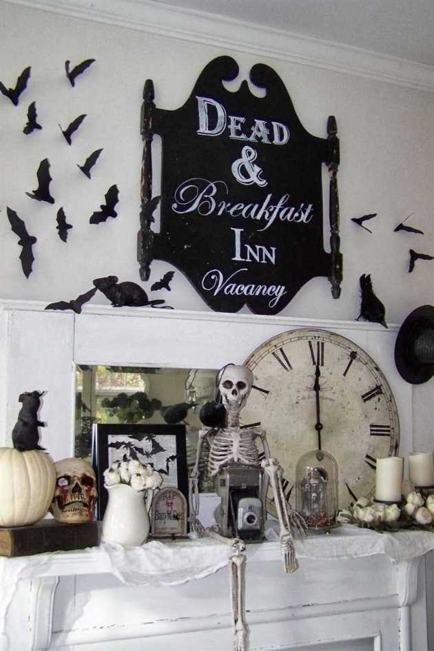 scary halloween interior decor ideas