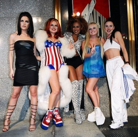 spice girl costume ideas for college girls on halloween