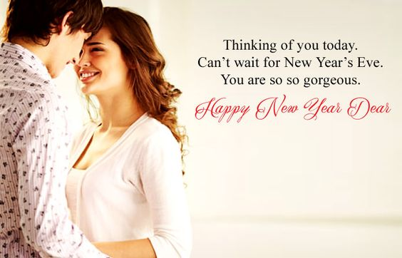 happy new year eve messages for dear love