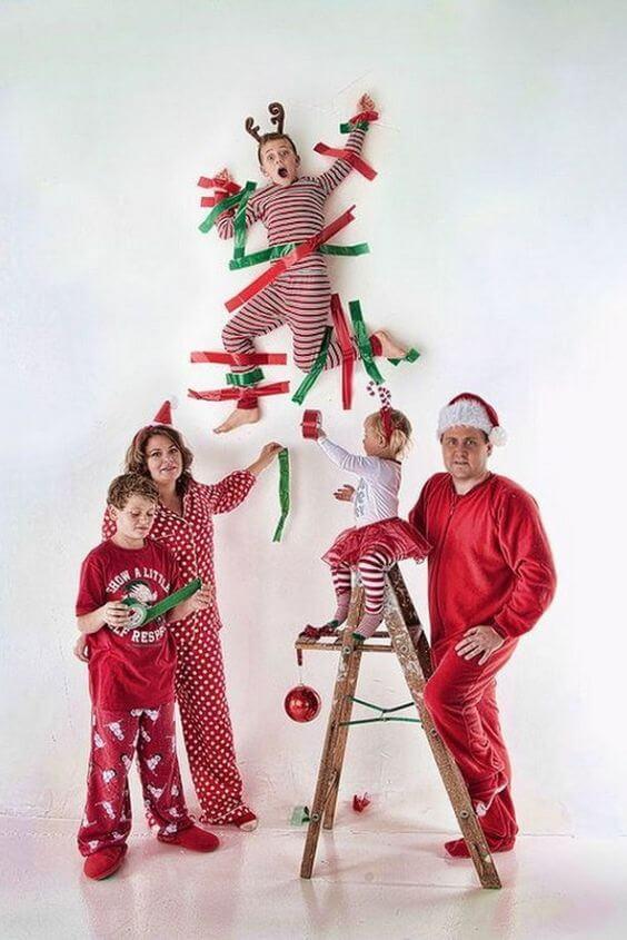 hilarious funny family christmas photo ideas