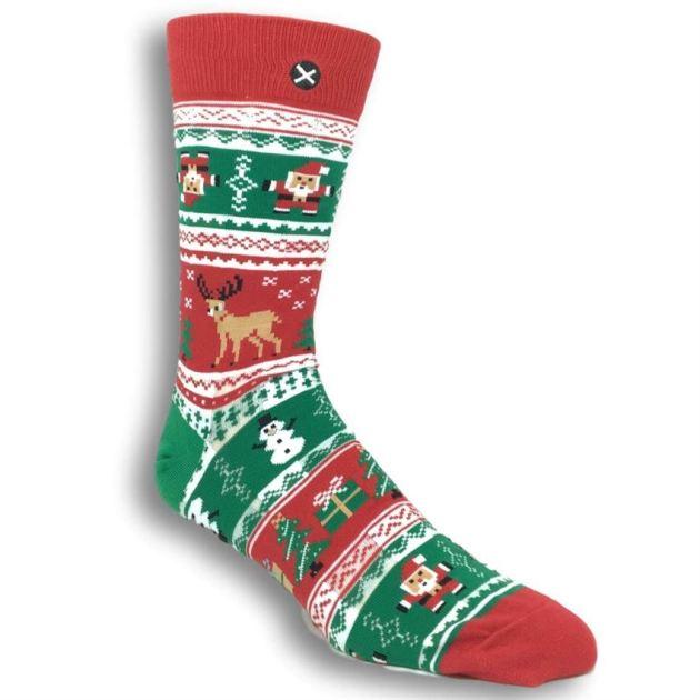 ugly christmas sweater socks