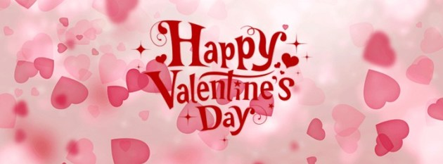 download free pink happy valentines day cover photo