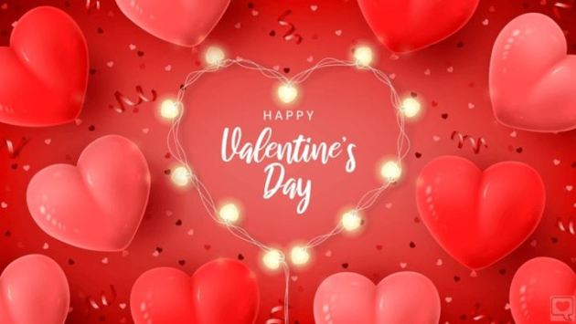 download free happy valentines day balloon hearts image