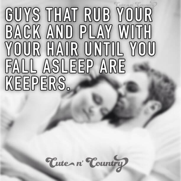 cute things guys love the most a girls touch on chest