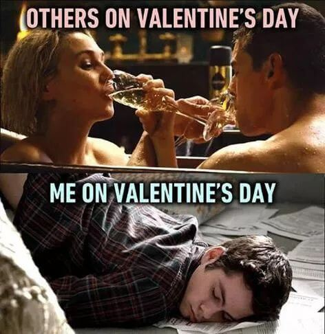 single on valentines day meme image for men