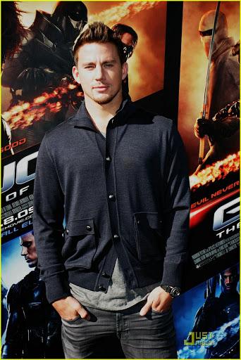 Channing Tatum's faux hawk cut