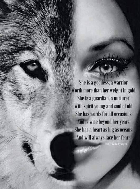 goddess warrior quote