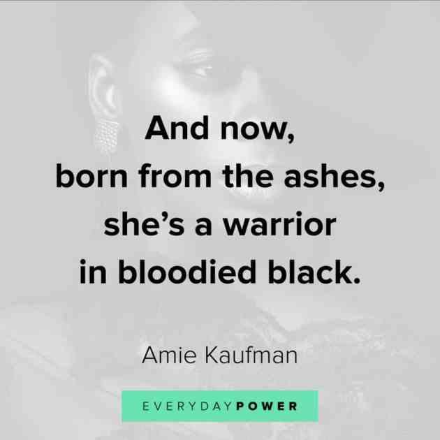 tough warrior woman quote