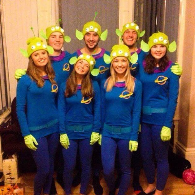 cute diy last minute halloween group costume ideas for 7