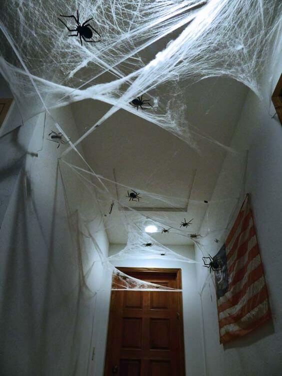 indoor haunted mansion roof decoration ideas