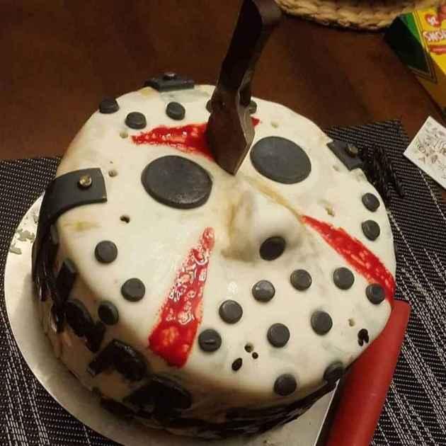 jason voorhess friday the 13th cake idea