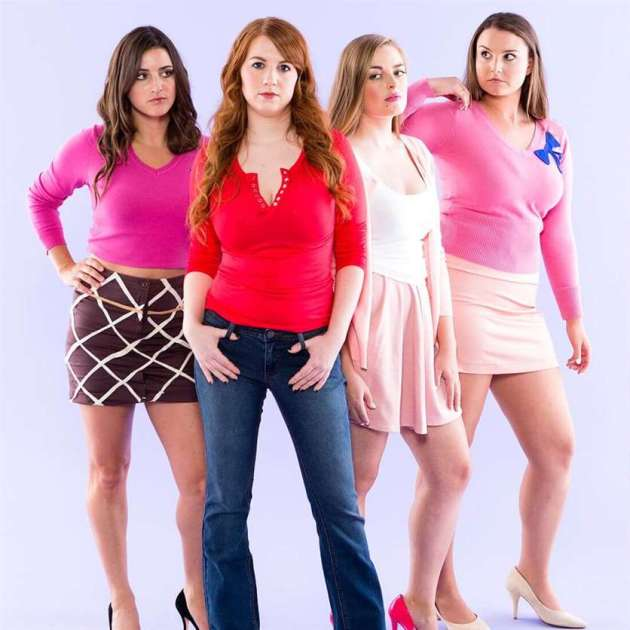 mean girls group halloween costumes for work