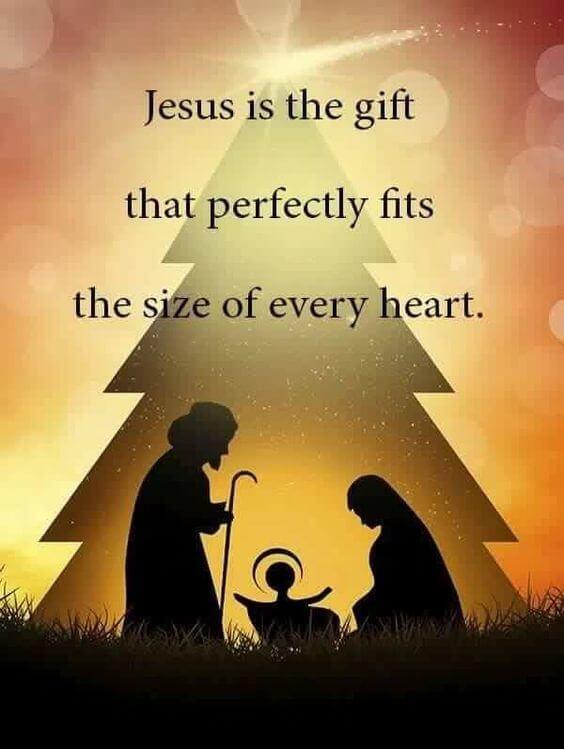religious merry christmas image