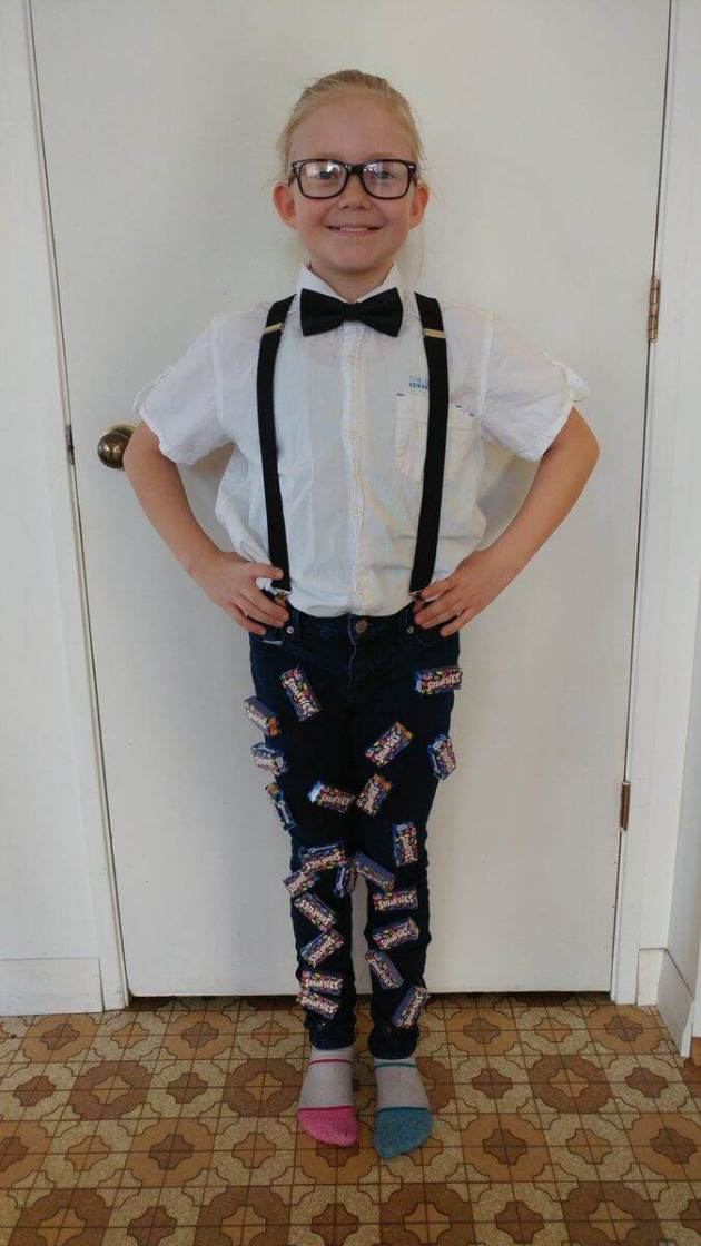 smarty pants halloween costume idea of boys