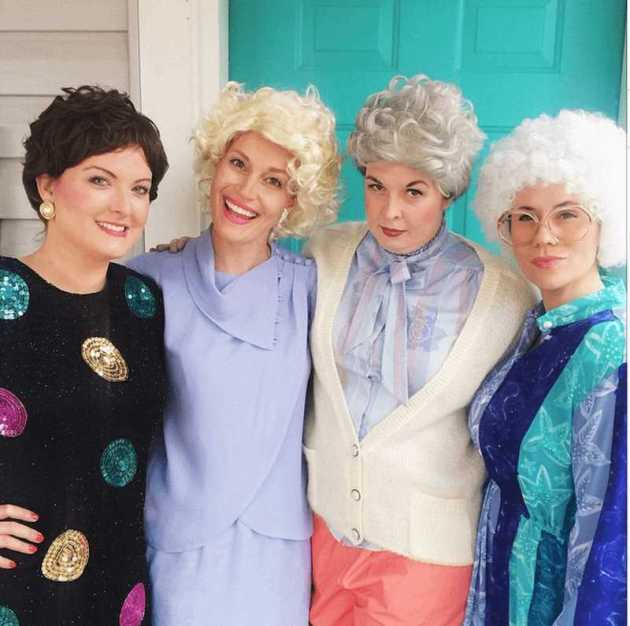 the golden girls group halloween costumes for work