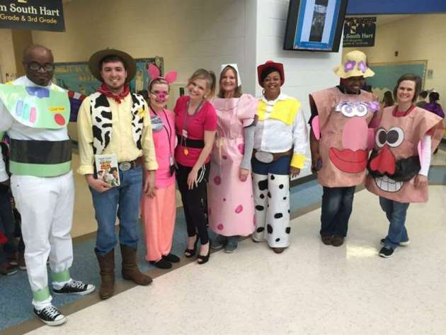 toy story group halloween costumes for work
