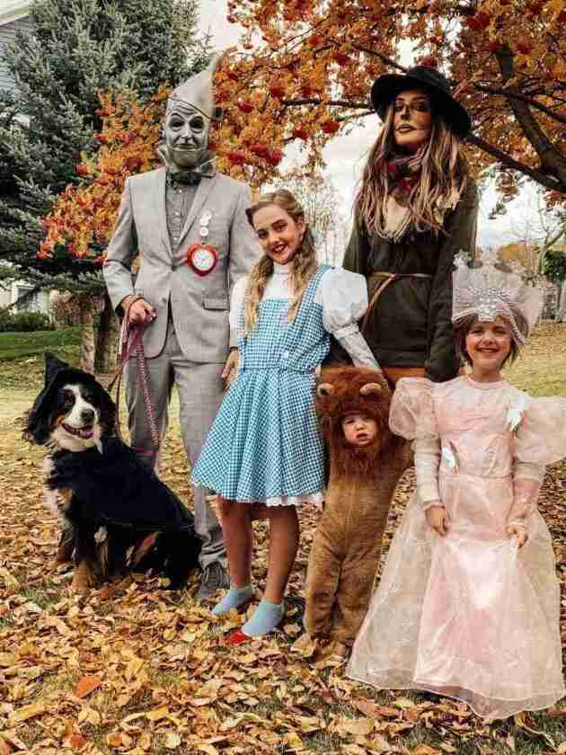 wizard of oz family halloween costumes ideas
